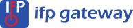 IFP Gateway blue logo with name